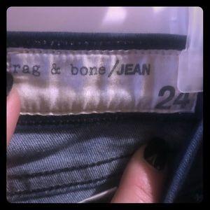 RAG AND BONE SKINNY JEANS.